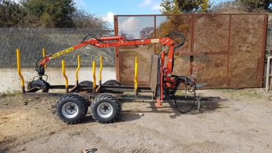 JMS1005UK trailer & crane