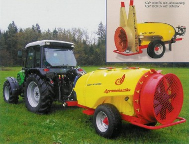 AGP 1500 EN Trailed mist sprayer