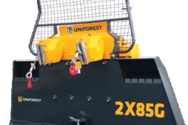 Uniforest 2X85G Forestry winch