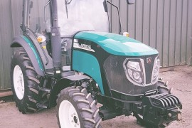Arbos 3055, 50hp 4wd tractor with cab