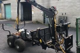 COT 15-330 4wd trailer & crane