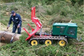 Timber winch, forestry winch, Tractor Winch