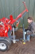 Split-Fire Road Tow Log Splitter
