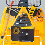 Uniforest 85H Pro hinged butt plate Forestry Winch