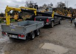 Ifor Williams LM105 Trailer and crane