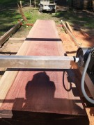 Peterson Sawmill & Trailer, 27hp DWS Slabber