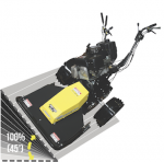 Pedestrian wheeled Strimmers, mowers & bank mowers