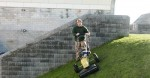 Pedestrian wheeled Strimmers, mowers & bank mowers