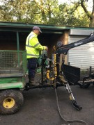 COT 15-330 4wd trailer & crane (sold)